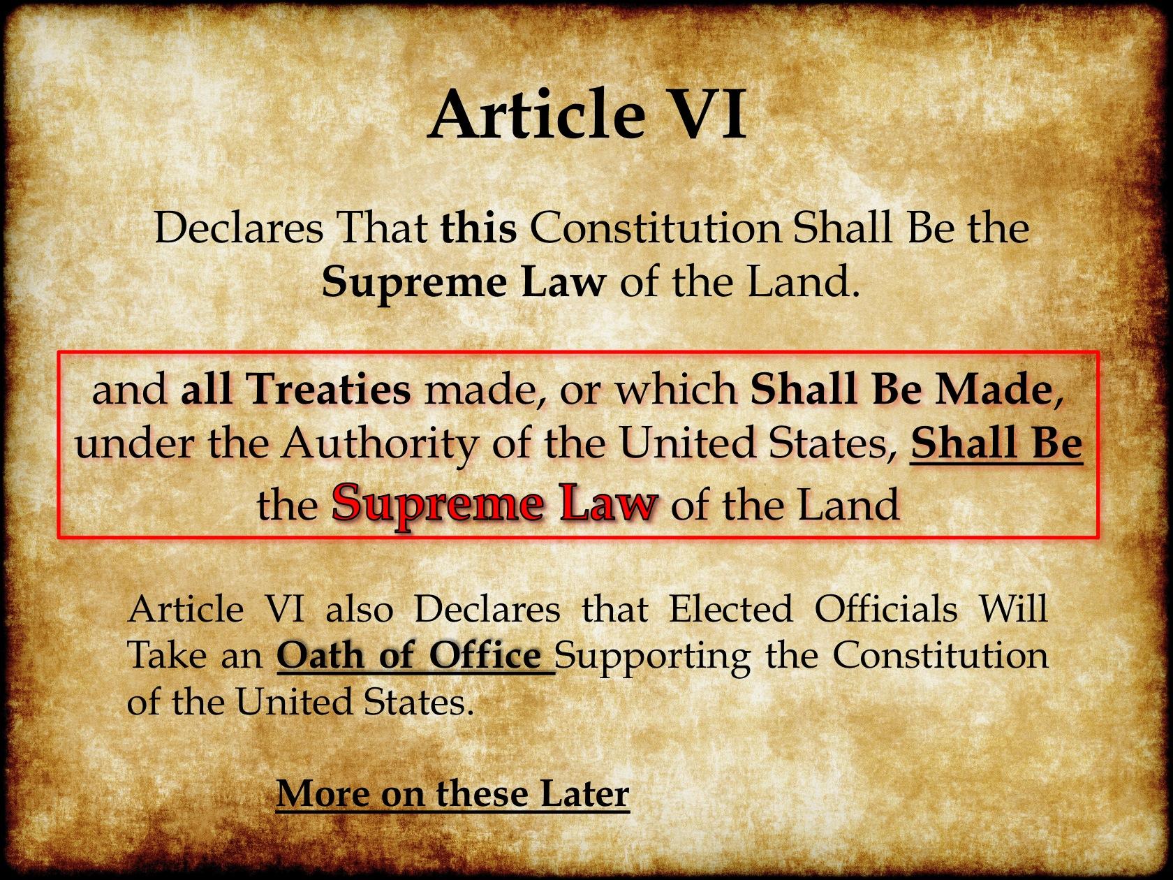 What Treaties Do!